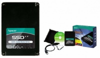 APACER A7201 Solid State Drive 64GB PREMIUM kit SATA2 2.5in (150MB/s, SSD = HDD bez pohyblivych casti)