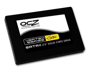 OCZ VERTEX TURBO Solid State Drive 120GB SATA2 2.5in (270MB/s, 64MB cache, RAID)